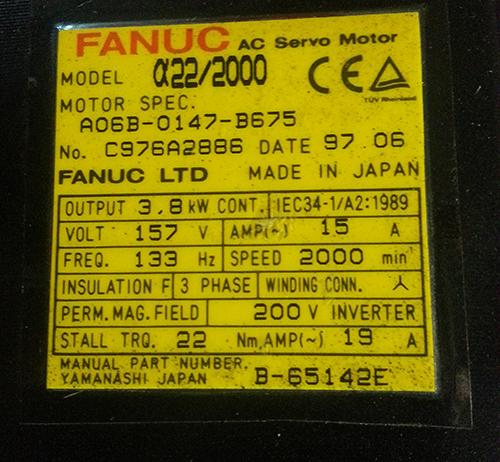 a22/2000 Motor Image