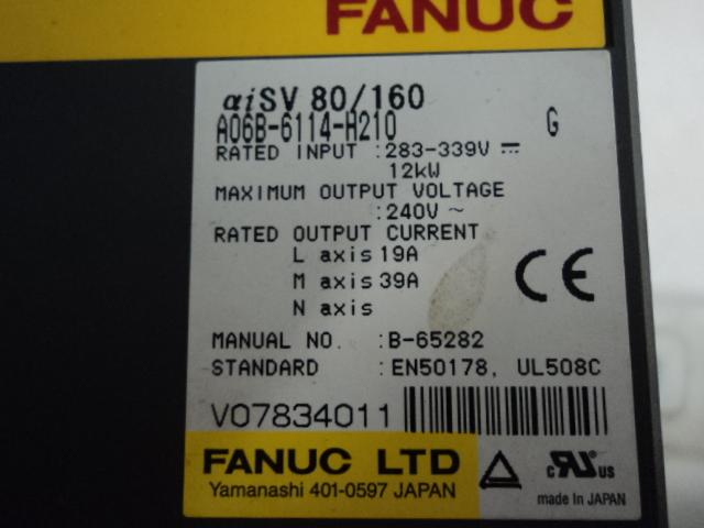 Servo Amplifier 283/325V 12KW 19/35AMP Image